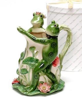 Frog Porcelain Tango Vase