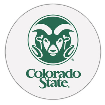 Colorado State Rams Absorbent Beverage Coasters, Set of 8