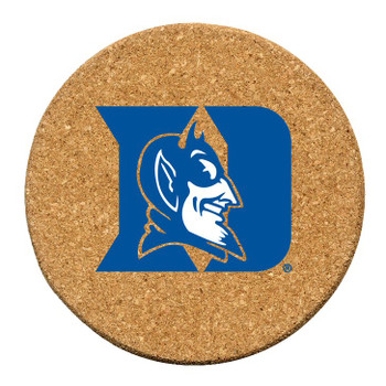 Duke Blue Devils Cork Beverage Coasters, Set of 12