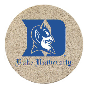 Duke Blue Devils Sandstone Beverage Coasters, Set of 8