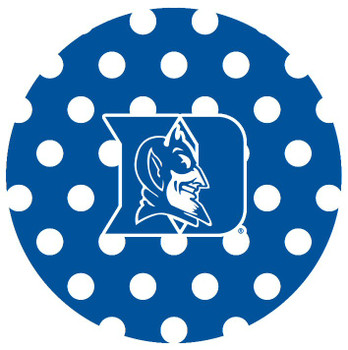 Duke Blue Devils Dots Absorbent Beverage Coasters, Set of 8