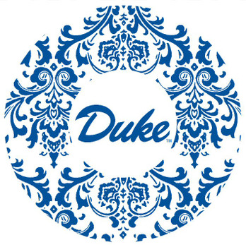 Duke Blue Devils Swirls Absorbent Beverage Coasters, Set of 8