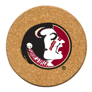 Florida State Seminoles Cork Beverage Coasters, Set of 12