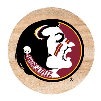 Florida State Seminoles Sandstone Beverage Coasters, Set of 8
