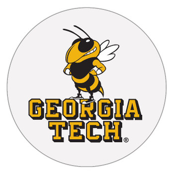 Georgia Tech Yellow Jackets Absorbent Beverage Coasters, Set of 8