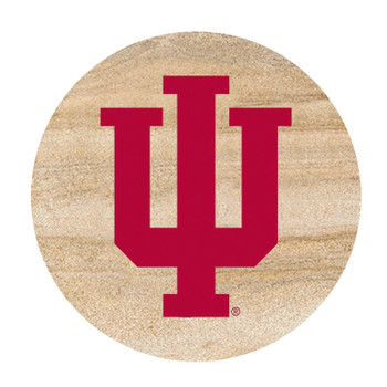 Indiana Hoosiers Sandstone Beverage Coasters, Set of 8