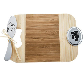 Kansas State University Wildcats Bamboo Mini Serving Board & Spreader