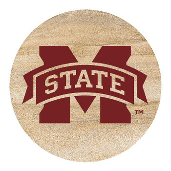 Mississippi State Bulldogs Sandstone Beverage Coasters, Set of 8