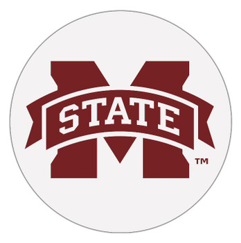 Mississippi State Bulldogs Absorbent Beverage Coasters, Set of 8