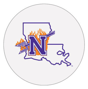 Northwestern State Demons Absorbent Beverage Coasters, Set of 8