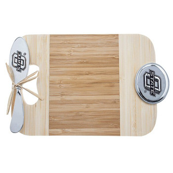 Oklahoma State University Cowboys Bamboo Mini Serving Board & Spreader