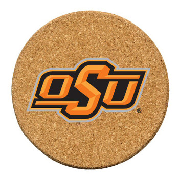 Oklahoma State Cowboys Cork Beverage Coasters, Set of 12