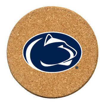 Penn State Nittany Lions Cork Beverage Coasters, Set of 12