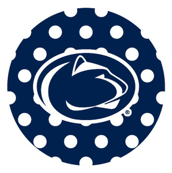 Penn State Nittany Lions Dots Absorbent Beverage Coasters, Set of 8