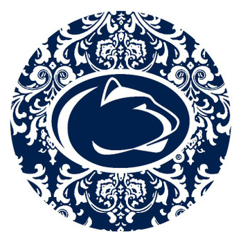 Penn State Nittany Lions Pattern Absorbent Beverage Coasters, Set of 8