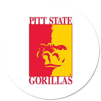 Pittsburgh State Gorillas Beverage Coasters, Set of 8