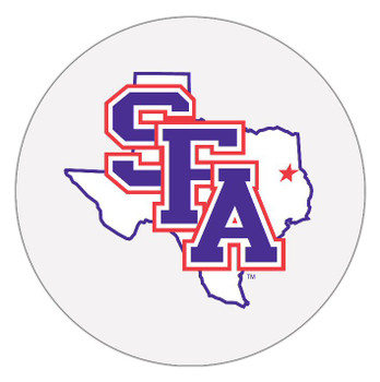 Stephen F. Austin Lumberjacks Absorbent Beverage Coasters, Set of 8