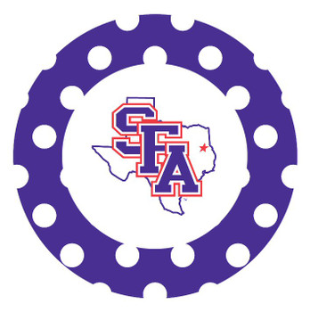 Stephen F. Austin Lumberjacks Dots Beverage Coasters, Set of 8