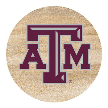 Texas A&M Aggies Sandstone Beverage Coasters, Set of 8