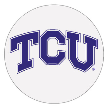 Texas Christian Horned Frogs Absorbent Beverage Coasters, Set of 8