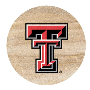 Texas Tech Red Raiders Sandstone Beverage Coasters, Set of 8