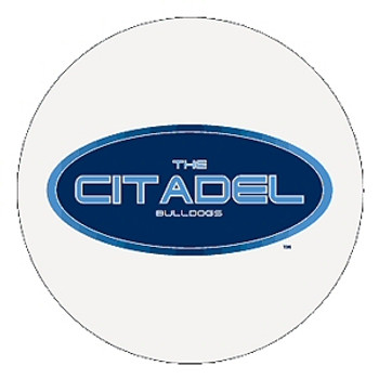 The Citadel Bulldogs Absorbent Beverage Coasters, Set of 8