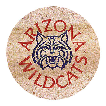 Arizona Wildcats Sandstone Beverage Coasters, Set of 8
