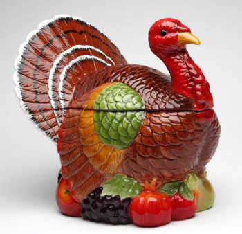 Turkey Bird Cookie Jar