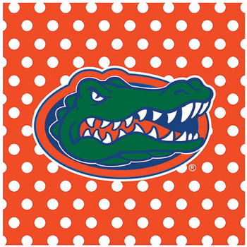 University of Florida Gators Dots Ceramic Trivets, Set of 2