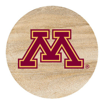 Minnesota Golden Gophers Sandstone Beverage Coasters, Set of 8