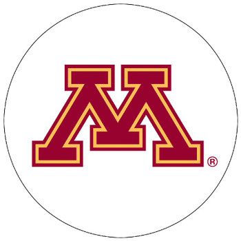 Minnesota Golden Gophers Absorbent Beverage Coasters, Set of 8