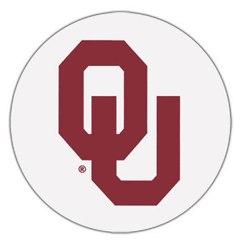 Oklahoma Sooners Absorbent Beverage Coasters, Set of 8