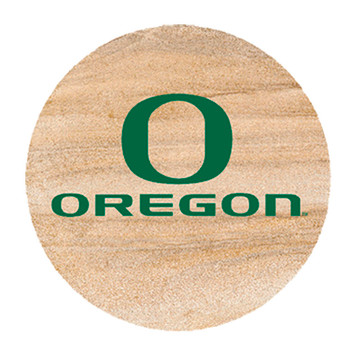 Oregon Ducks Sandstone Beverage Coasters, Set of 8