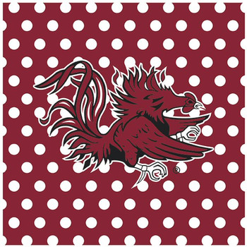 University of South Carolina Gamecocks Dots Ceramic Trivets, Set of 2