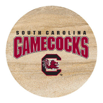 South Carolina Gamecocks Sandstone Beverage Coasters, Set of 8