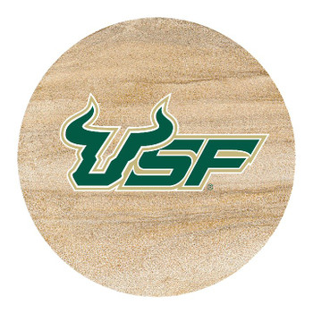 South Florida Bulls Sandstone Beverage Coasters, Set of 8