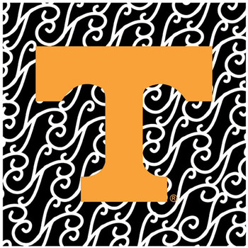 University of Tennessee Volunteers Swirls Ceramic Trivets, Set of 2