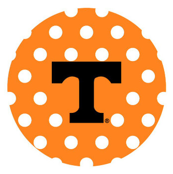 Tennessee Volunteers Dots Absorbent Beverage Coasters, Set of 8