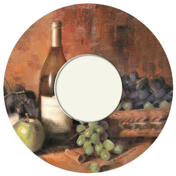 Wine and Fruit Wine Trivet by Chauncey Homer, Set of 2