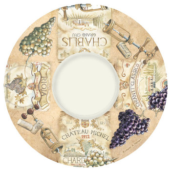 Wine Labels Wine Trivet by Richard A. Henson, Set of 2