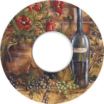 Wine and Poppies Wine Trivet by Tre Sorelle Studios, Set of 2