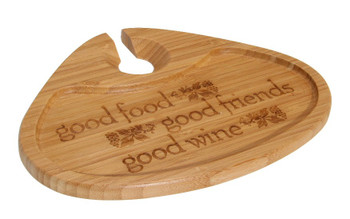 Good Food Bamboo Party Plate, Set of 2