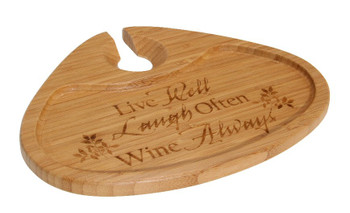 Live Well Bamboo Party Plate, Set of 2