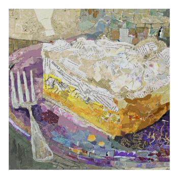 Lemon Pie on Lavender Trivet by Elizabeth St. Hilaire Nelson, Set of 2