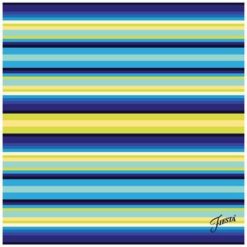Fiesta Cool Stripe Ceramic Trivets, Set of 2