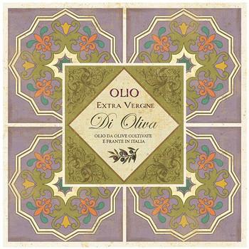 Oliva Collection Ceramic Trivets, Set of 2