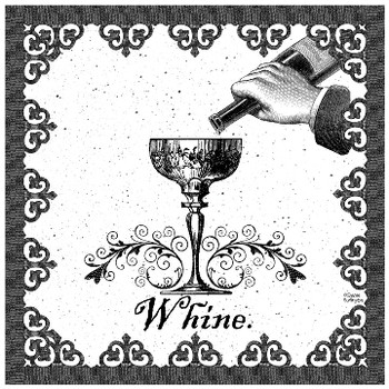 Whine Ceramic Trivet, Set of 2
