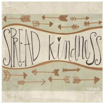 Spread Kindness Ceramic Trivets, Set of 2