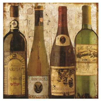 Bottled at the Vineyard Ceramic Trivets, Set of 2