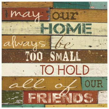 May Our Home Ceramic Trivets, Set of 2